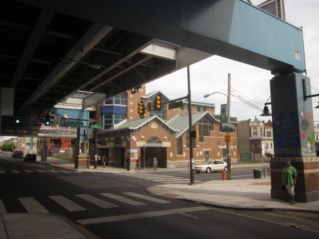 46th Street El Station, at 46th & Market Streets