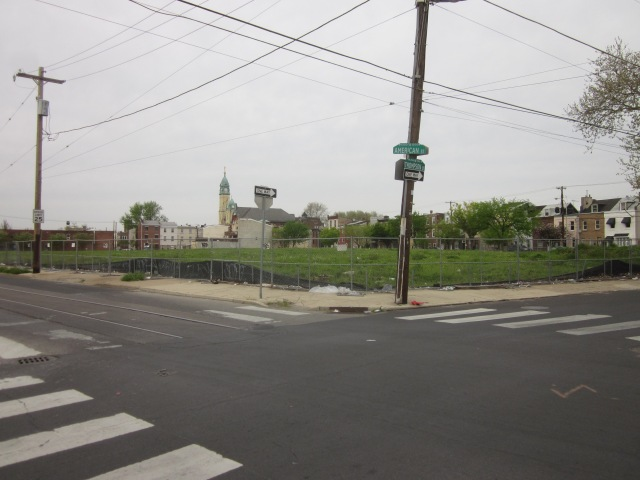 Absco site from American and Thompson Streets
