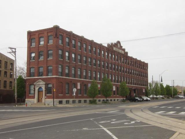 Crane Arts Building, at American and Master Streets