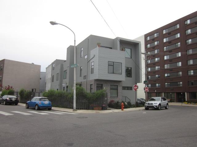 New homes at Fifth Street and Germantown Avenue, a couple blocks west of the future Soko Lofts