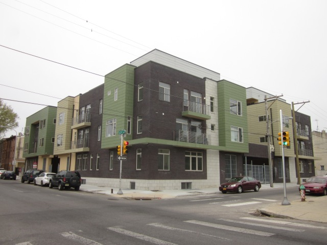 New residential construction at Second and Jefferson Streets, a couple blocks north of the future Soko Lofts