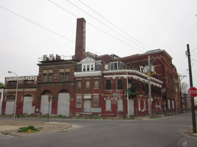 Vacant Gretz Brewery, on Germantown Avenue