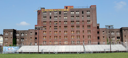 The Croydon, before renovation began (courtesy of West Philly Local)