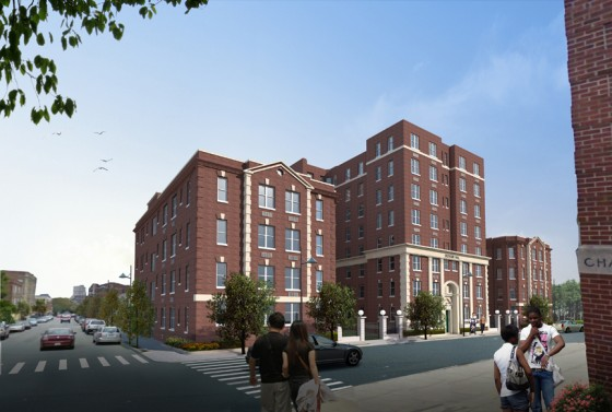 Rendering of The Croydon when complete