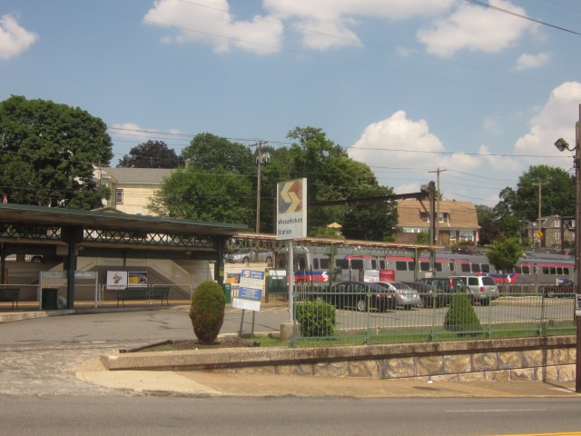 Wissahickon Train Station