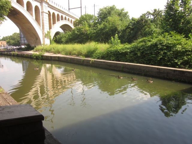 Manayunk Canal and towpath