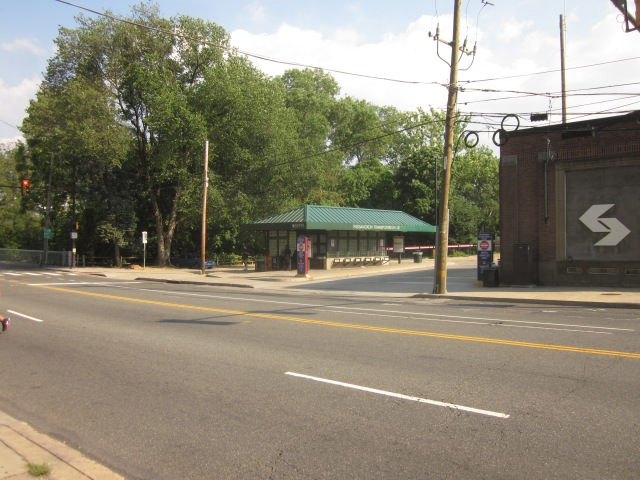 Wissahickon Transportation Center, next to the Wissahickon Creek