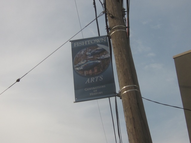 Fishtown banners along Frankford Avenue