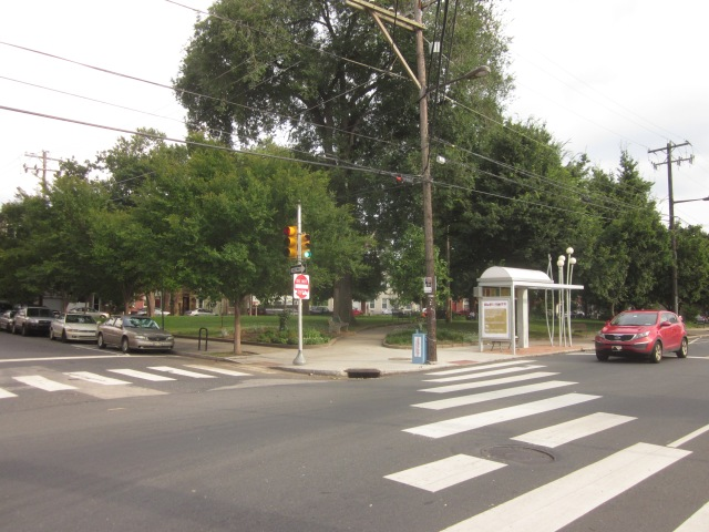 Palmer Park, at Frankford Avenue and Palmer Street