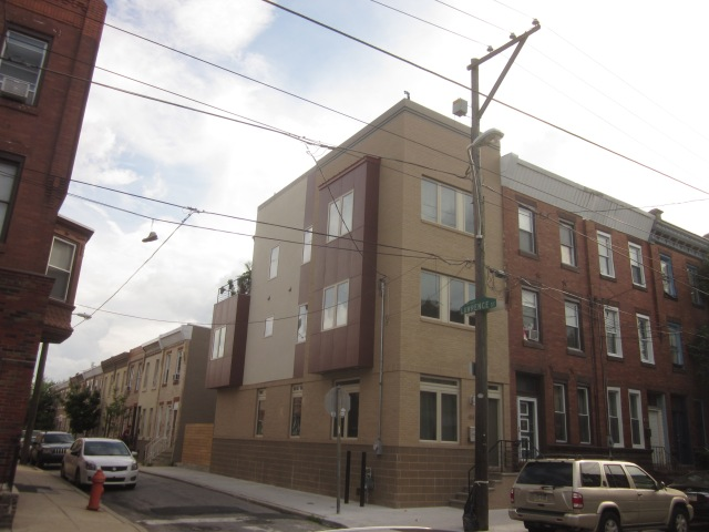 New home on Tasker Street, a half block from Dickinson Square Park