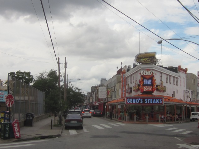 Geno's Steaks and the Ninth Street (Italian) Market