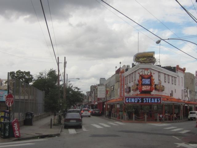 Geno's Steaks and the Ninth Street (Italian) Market