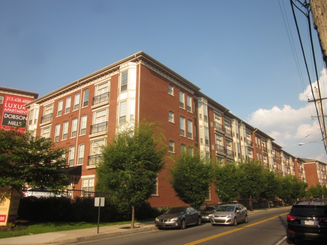 Dobson Mills on Ridge Avenue