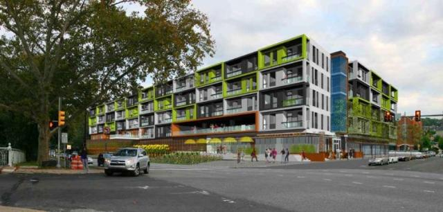 rendering of ridge flats from kelly drive