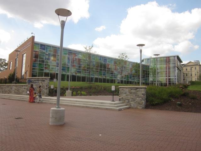 Front of Karabots Center