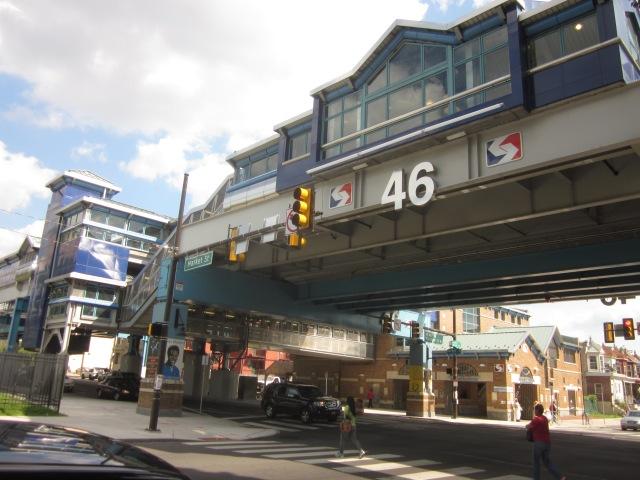 46th Street El Station