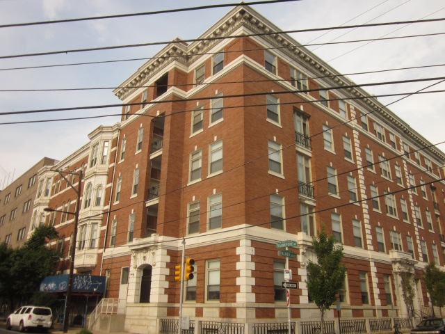Former Neumann Hospital, at Frankford Avenue and Palmer Street, is now the Marie Lederer Senior Housing Complex