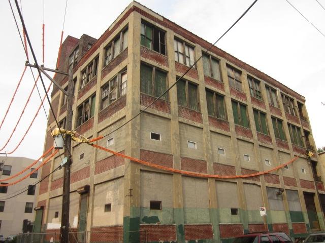 Albert J. Reach baseball factory as it is today