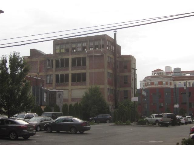 Albert J. Reach baseball factory from Memphis Street