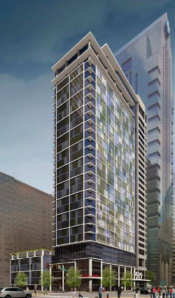 New Luxury Apartment Tower At 1919 Market Street In