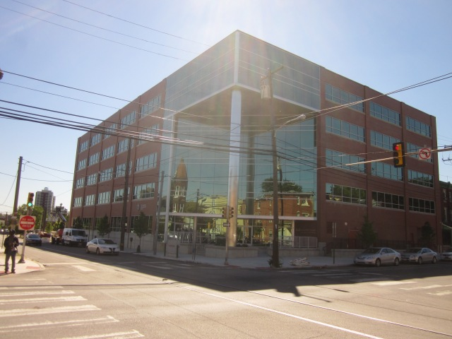 2.0 University Place office building, at 41st Street and Powelton Avenue