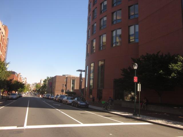 University of Pennsylvania campus, along Walnut Street