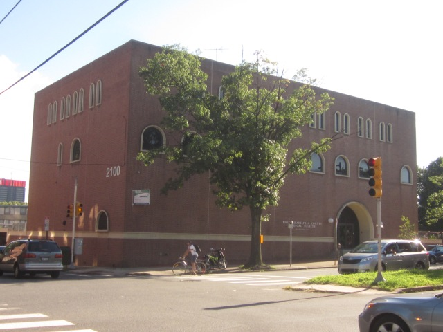 The Philadelphia County Medical Society building, at 21st and Spring Garden Streets