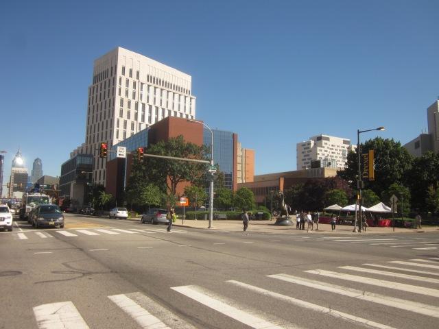 Drexel campus along Market Street