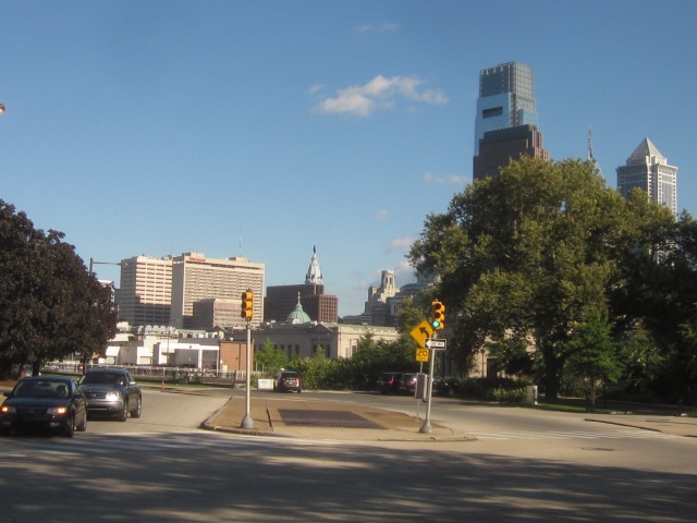 Looking east on Pennsylvania Avenue