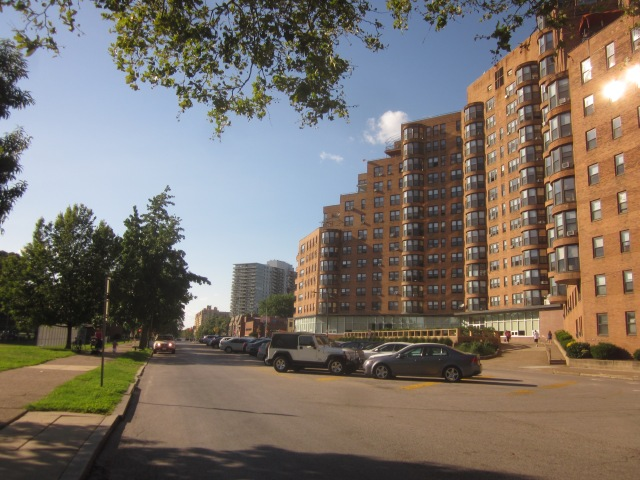 Looking west down Pennsylvania Avenue, towards Fairmount Park