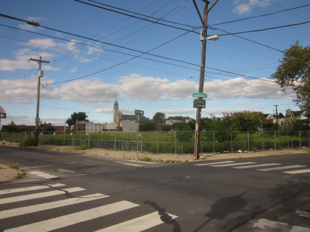 Future site of Soko Lofts, at the intersection of American and Thompson Streets