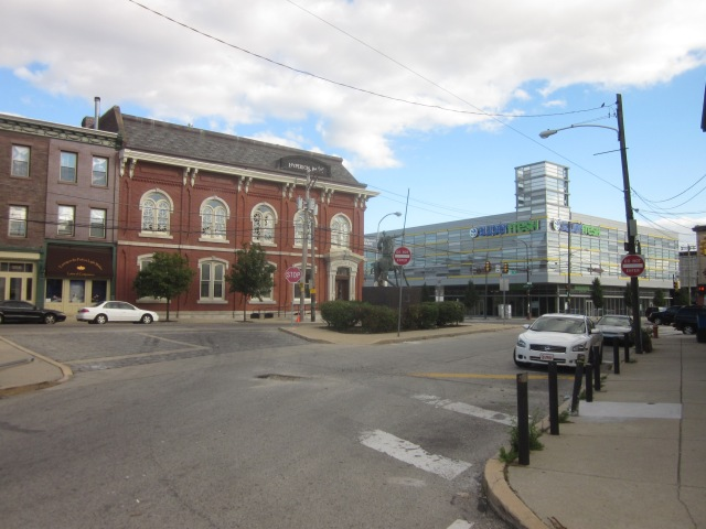 Intersection of Girard Avenue, American Street, and Second Street