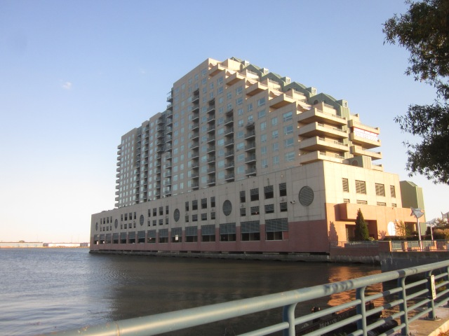 Dockside Condos, south of Penn's Landing on Delaware Avenue