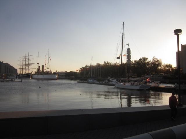 Penn's Landing boat basin