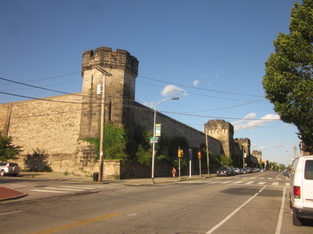 Eastern State Penitentiary, on Fairmount Avenue