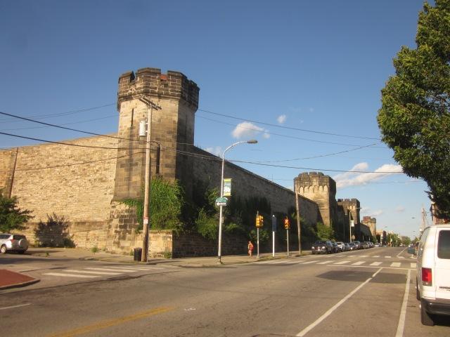 Eastern State Penitentiary, on Fairmount Avenue