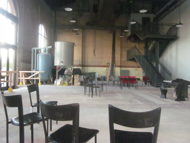 Event space inside the FringeArts headquarters