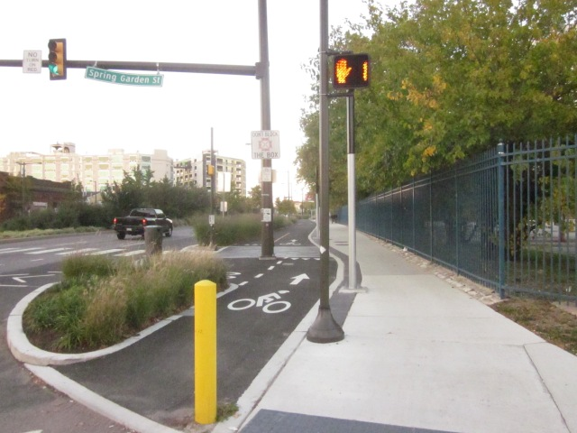 New river walk trail, at Delaware Avenue and Penn Street