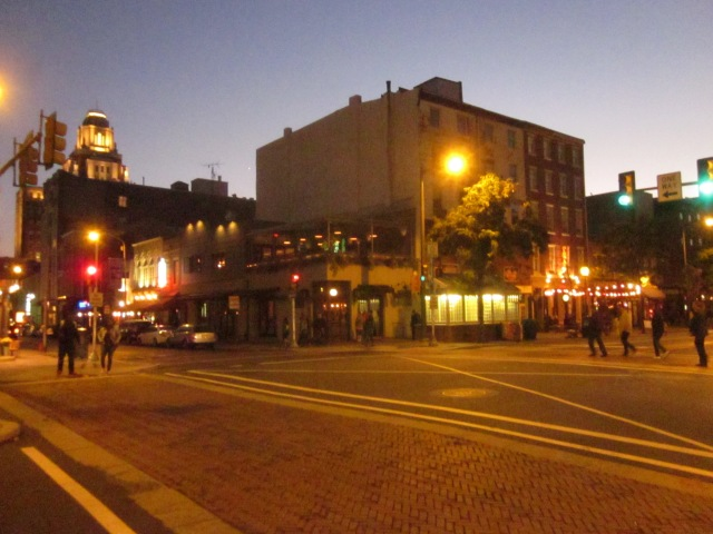 Second and Market Streets in Old City