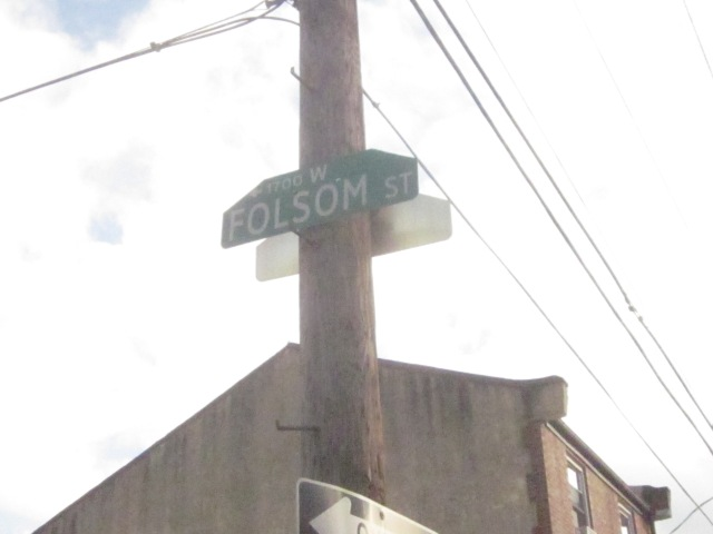 Folsom Street street sign
