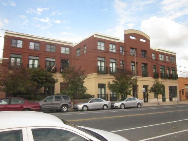 Modern apartment building on the 1700 block of Fairmount Avenue