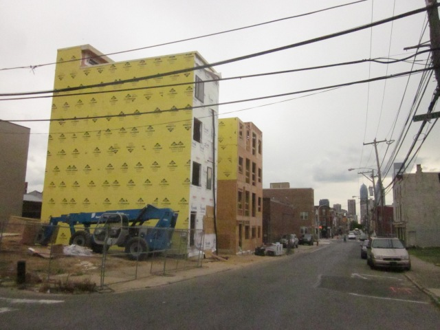 Vineyards on 16, under construction in Francisville