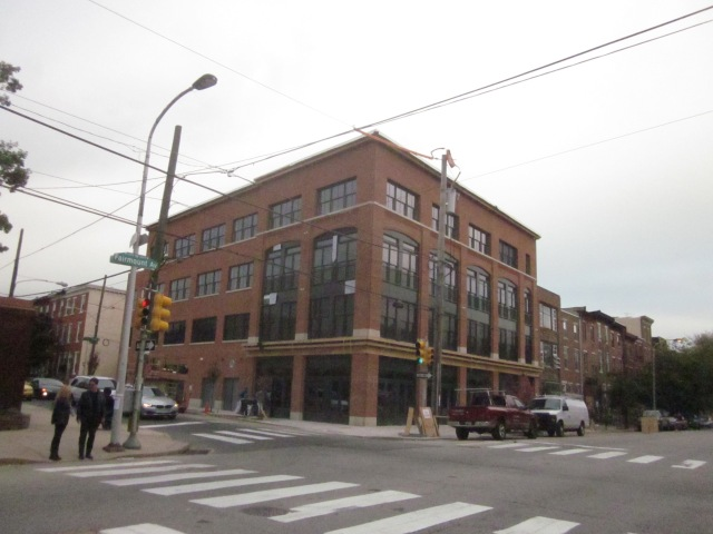 New apartment building, with retail, @ 19th Street and Fairmount Avenue
