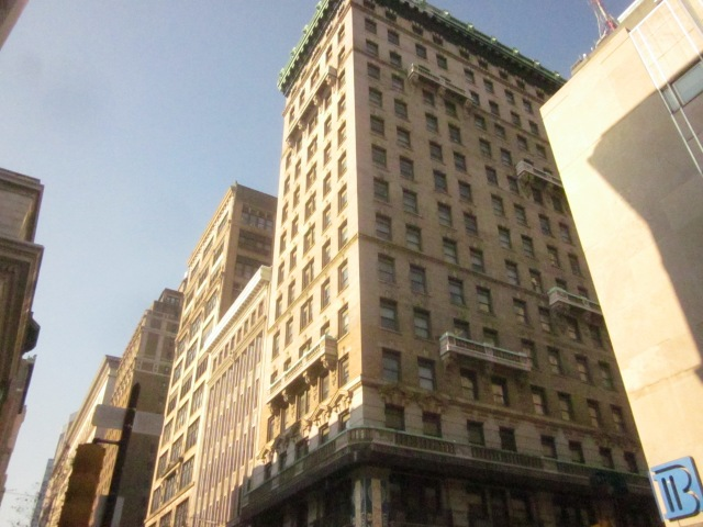1201 Chestnut Street, also known as The Commonwealth Apartments, on the northwest corner of 12th and Chestnut Streets
