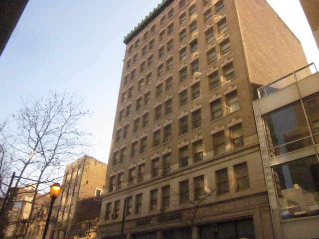 The Bailey Building, on the 1200 block of Chestnut