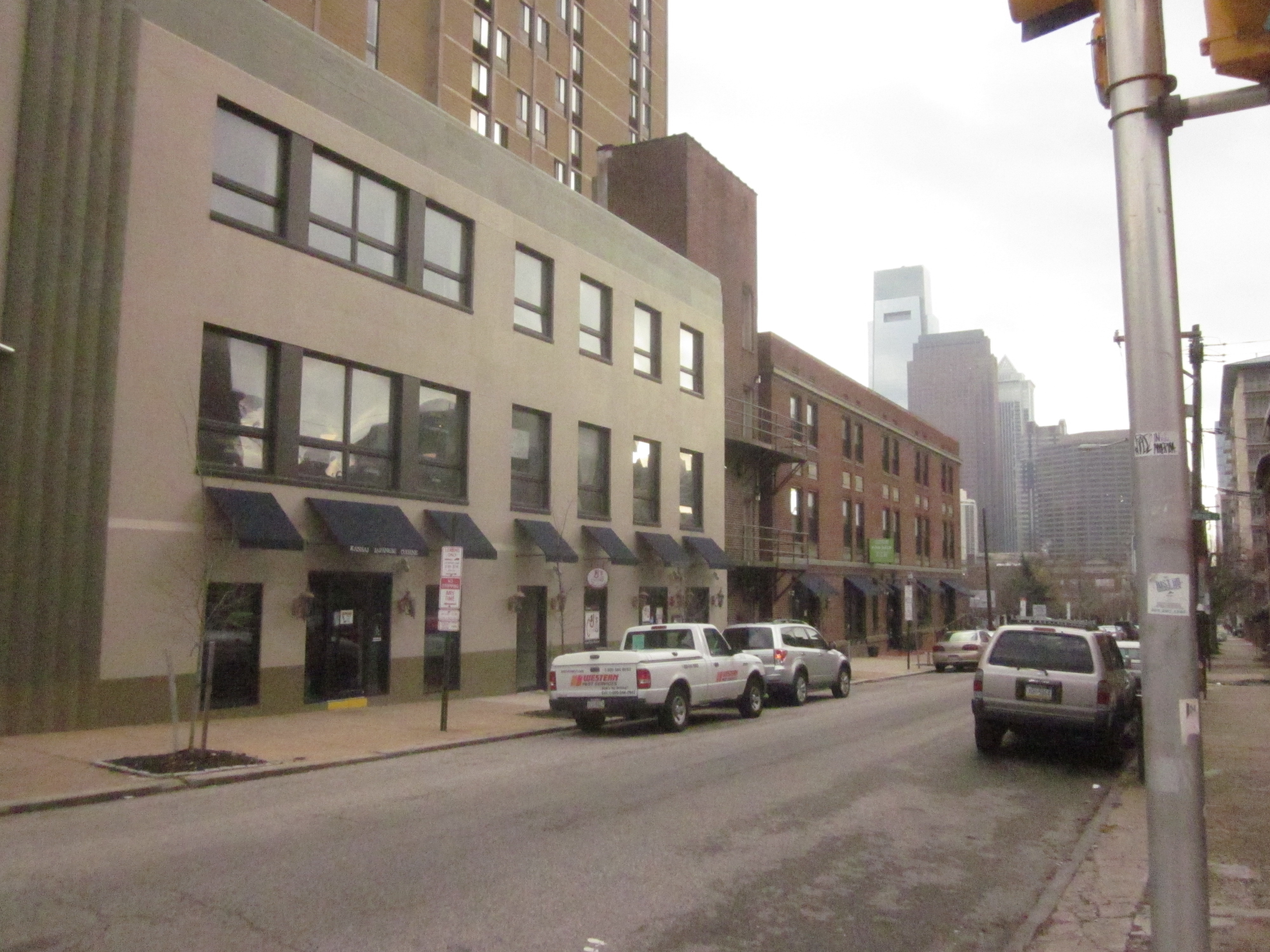 Museum Towers Ii Is Another Big Apartment Development In Fairmount Franklintown But Also Has