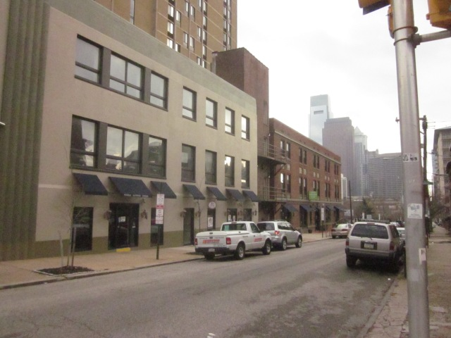Retail on 19th Street, just south of Spring Garden Street