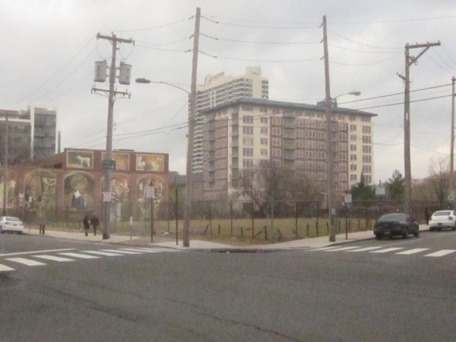 Development site at Callowhill Street and Franklintown Boulevard