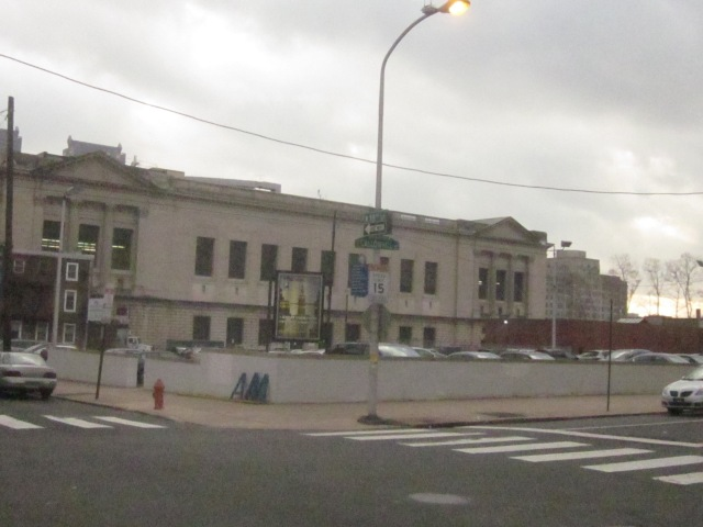 Back of the Central Library, at 19th and Callowhill Streets, could see an expansion sometime soon