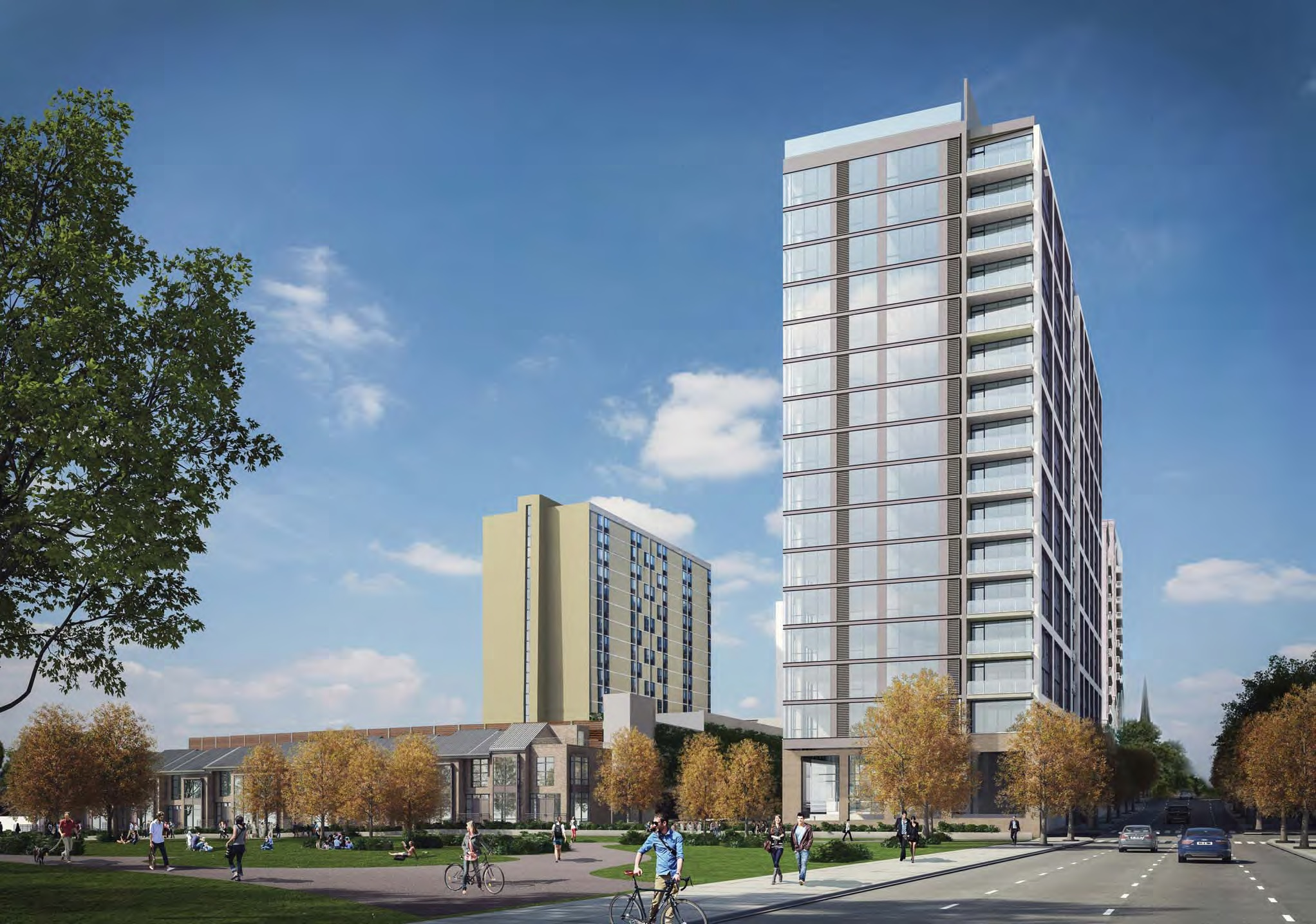 museum towers ii is another big apartment development in fairmount